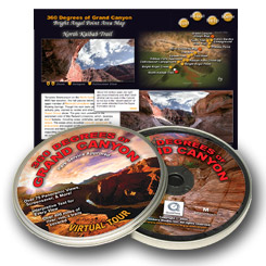 360 Degrees of Grand Canyon National Park Interpretive CDROM