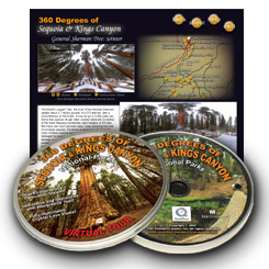 360 Degrees of Sequoia and Kings Canyon National Parks Interpretive CDROM