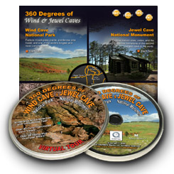 360 Degrees of Wind Cave and Jewel Cave Interpretive CDROM