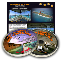 360 Degrees of Dry Tortugas National Park Interpretive CDROM