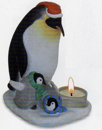 Penguin Family Tea Light