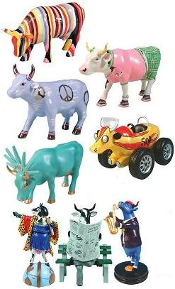 Cow Parade, Winter 2006 Herd