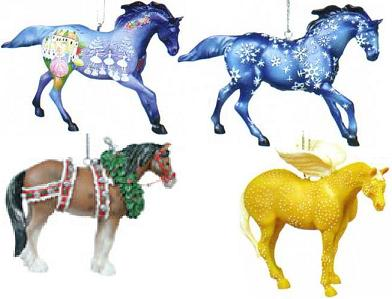 Trail of the Painted Ponies, Christmas 2004 Ornament Set