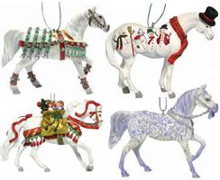 Trail of the Painted Ponies, Christmas 2006 Ornament Set