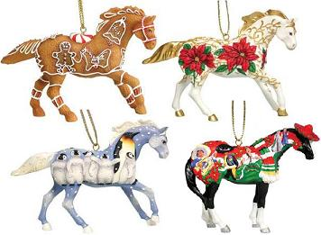 Trail of the Painted Ponies, Christmas 2007 Ornament Set