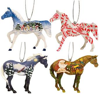 Trail of the Painted Ponies, Christmas 2008 Ornament Set ...
