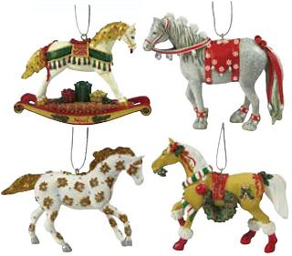 Trail of the Painted Ponies, Christmas 2009 Ornament Set