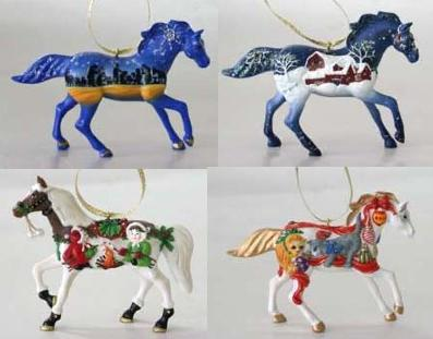 Trail of the Painted Ponies, Christmas 2010 Ornament Set