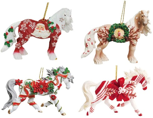 Horse of a Different Color, Christmas 2012 Ornaments