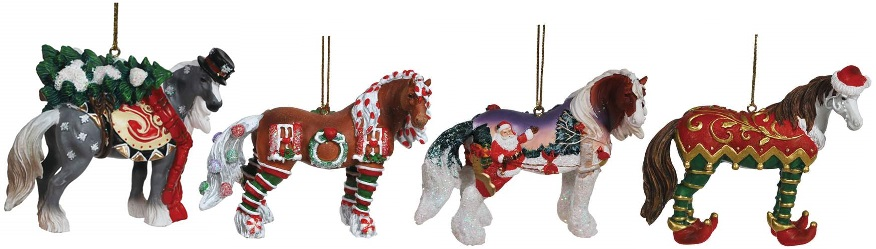 Horse of a Different Color, Christmas 2014 Ornaments