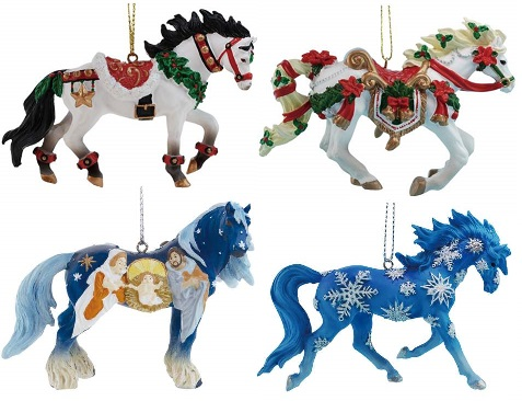 Horse of a Different Color, Christmas 2015 Ornaments