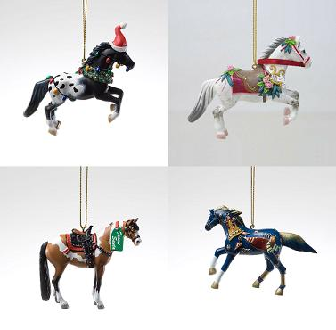Trail of the Painted Ponies, Christmas 2011 Ornament Set