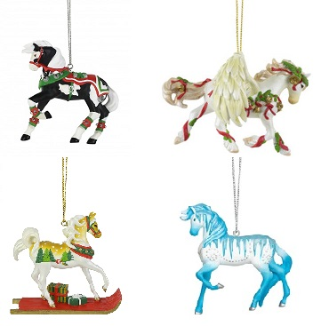 Trail of the Painted Ponies, Christmas 2019 Ornament Set