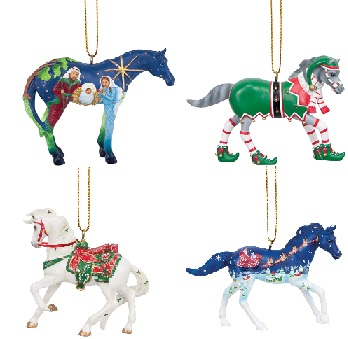 Trail of the Painted Ponies, Christmas 2013 Ornament Set