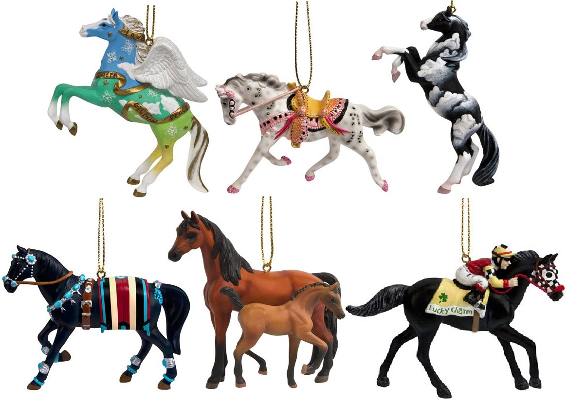Trail of the Painted Ponies, 2016 Christmas Ornament Set