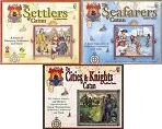 Settlers of Catan with Seafarers, Cities and Knights