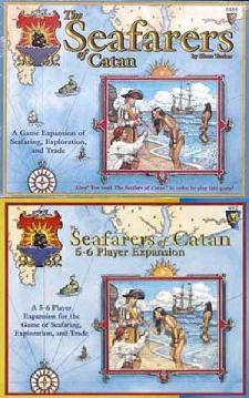 Seafarers of Catan with Expansion Set
