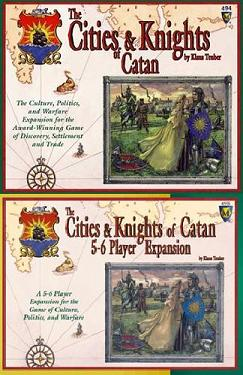 Cities and Knights of Catan with Expansion Set