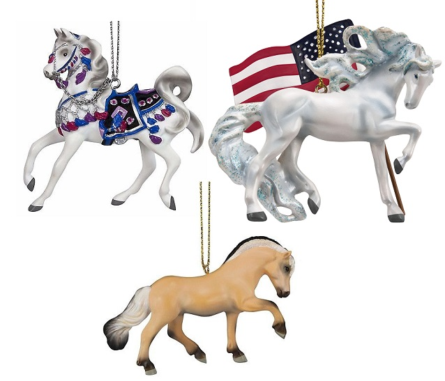 Trail of the Painted Ponies, 2017 Ornament Set