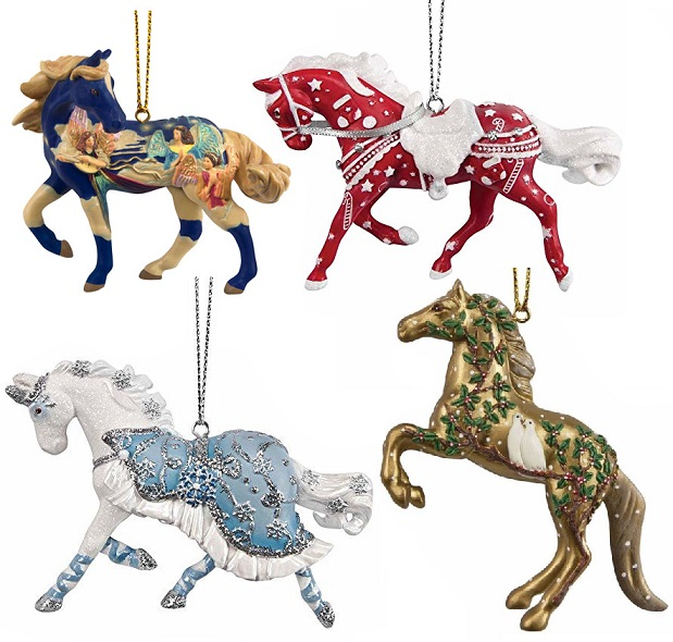 Trail of the Painted Ponies, 2017 Christmas Ornament Set