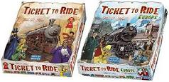 Ticket to Ride Europe and America Combo