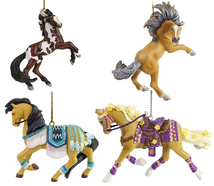 Trail of the Painted Ponies, 2020 Ornament Set