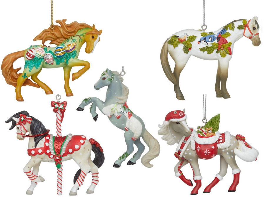 Trail of the Painted Ponies, Christmas 2020 Ornament Set