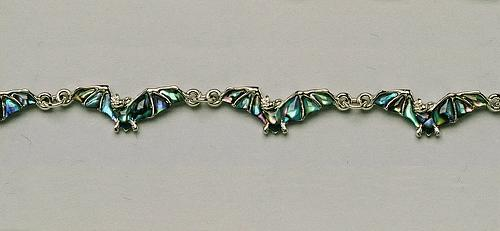 Wild Pearle Flying Bat Bracelet