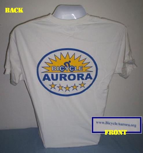 Bicycle Aurora T-Shirt, Small