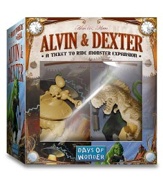 Ticket to Ride Alvin and Dexter