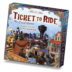 Ticket to Ride Card Game