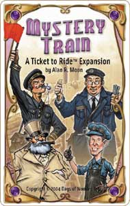 Ticket to Ride Mystery Train