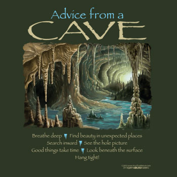 Advice from a Cave, Large Sweatshirt