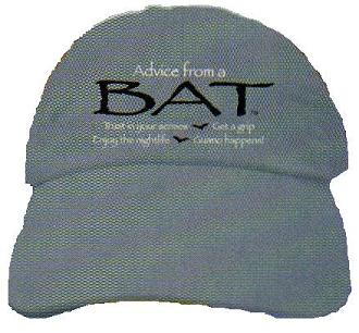 Advice from a Bat, Ball Cap