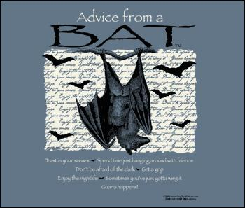 Advice from a Bat, Medium Sweatshirt