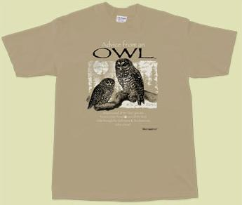 Advice from an Owl, Large