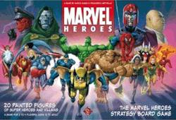 Marvel Heroes Strategy Board Game