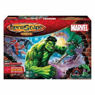 HeroScape Expansion: The Battle of All Time - Marvel Game Set