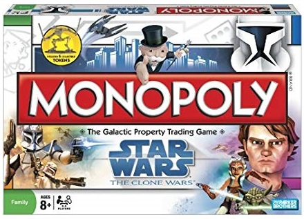 Star Wars The Clone Wars Monopoly