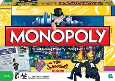 The Simpsons Edition Monopoly