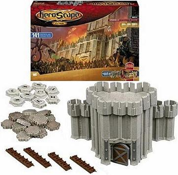 HeroScape Fortress of the Archkyrie Expansion Set