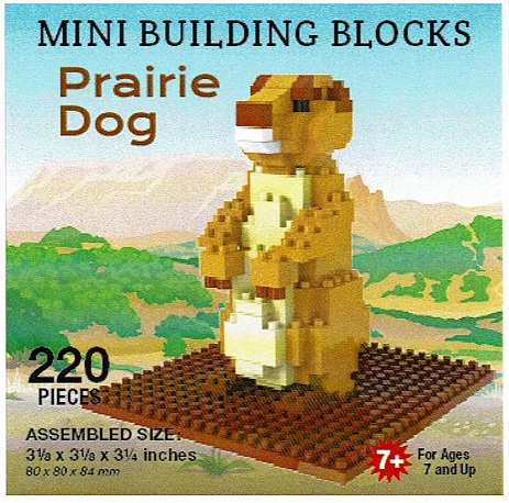 Prairie Dog Mini Building Blocks