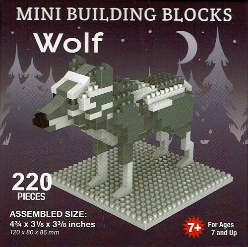 Wolf Mini Building Blocks