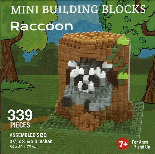 Raccoon Mini Building Blocks