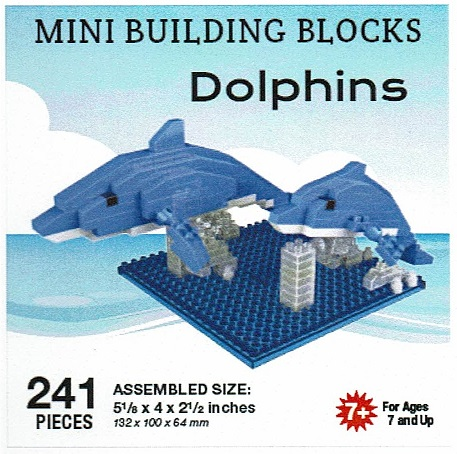 Dolphins Mini Building Blocks
