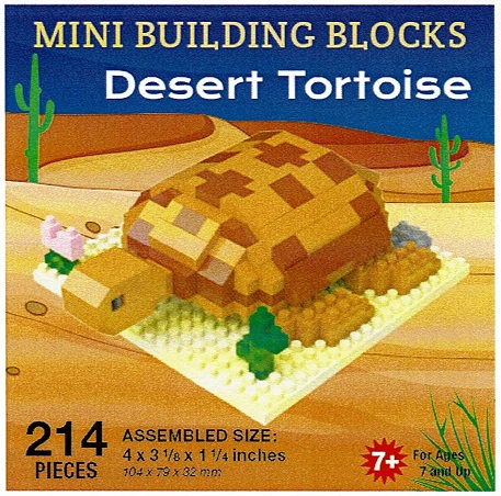 Desert Tortoise Mini Building Blocks