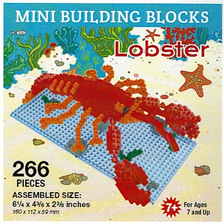 Lobster Mini Building Blocks