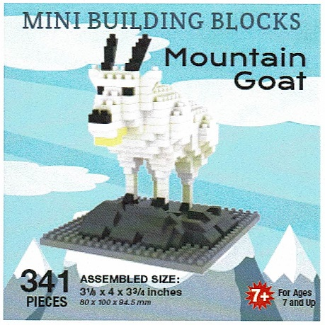 Mountain Goat Mini Building Blocks