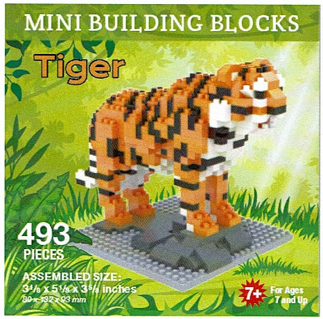 Tiger Mini Building Blocks