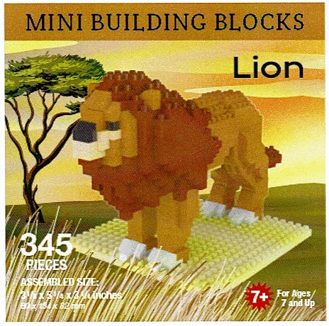 Lion Mini Building Blocks